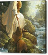 Be Not Afraid Acrylic Print by Greg Olsen