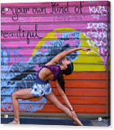 Be Your Own Kind Of Beautiful Acrylic Print