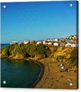 Beach - Ancud Chiloe Acrylic Print