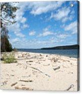 Beach And A Lake Acrylic Print