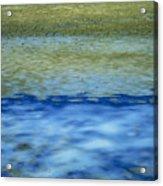 Beach And Sea Acrylic Print by Bernard Jaubert