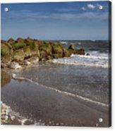 Beach At Tybee Acrylic Print