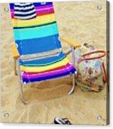 Beach Attire Acrylic Print