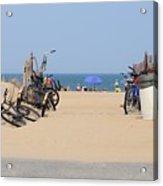 Beach Bikes 5832 Acrylic Print