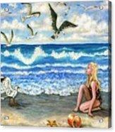 Beach Bliss Acrylic Print