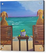 Beach Blondes Acrylic Print