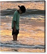 Beach Boy Acrylic Print
