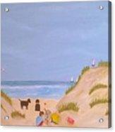 Beach Boys Acrylic Print