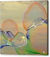 Beach Bubbles Acrylic Print