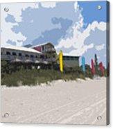 Beach Casino Acrylic Print