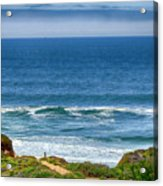 Beach Cloud Streak Acrylic Print