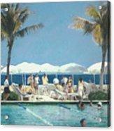 Beach Club Acrylic Print