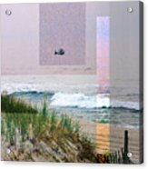 Beach Collage 3 Acrylic Print