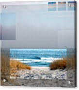Beach Collage Acrylic Print