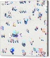 Beach Confetti Acrylic Print