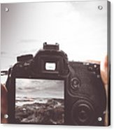 Beach Digital Photography Acrylic Print