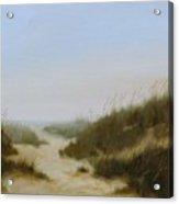 Beach Fog Acrylic Print