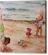 Beach Fun. 1 Acrylic Print