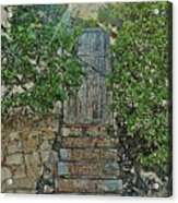 Beach Gate In The Morning Acrylic Print