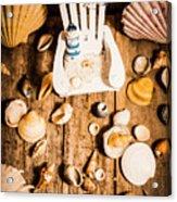 Beach House Artwork Acrylic Print