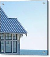Beach House Blues Acrylic Print