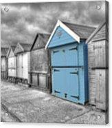 Beach Hut In Isolation Acrylic Print