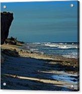 Beach Hutchinson Island, Fl Acrylic Print