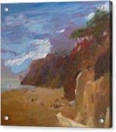 Beach in Santa Barbara Acrylic Print