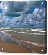 Beach Kincardine Acrylic Print