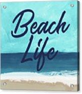 Beach Life- Art By Linda Woods Acrylic Print