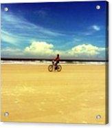Beach Life On Daytona Beach Acrylic Print