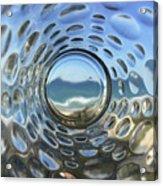 Beach Life Through The Looking Glass Acrylic Print