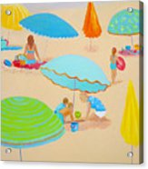 Beach Living Acrylic Print