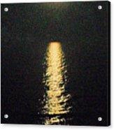 Beach Moonglow Acrylic Print
