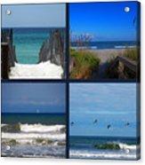 Beach Multiples Acrylic Print