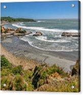Beach Near Cape Foulwind Acrylic Print