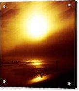Beach Night Light.. Acrylic Print