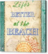 Beach Notes-jp3761 Acrylic Print