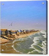Beach Of The Outer Banks Of N.c. Acrylic Print