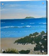 Beach On The North Coast Of Nsw  Acrylic Print