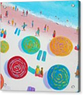 Beach Painting - A Walk In The Sun Acrylic Print