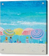 Beach Painting - Color Of Summer Acrylic Print