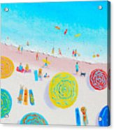 Beach Painting - Lazy Lingering Days Acrylic Print