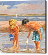 Beach Pals Acrylic Print