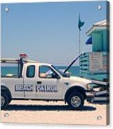 Beach Patrol Acrylic Print
