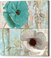 Beach Poppies II Acrylic Print