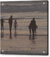 Beach Quality Time Acrylic Print