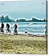 Beach Ride Acrylic Print