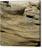 Beach Rock Formation Acrylic Print