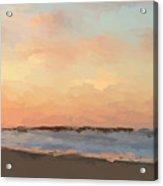 Beach Sand And Sun Acrylic Print